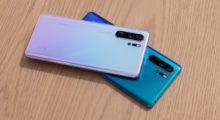 První dojmy z Huawei P30 a P30 Pro