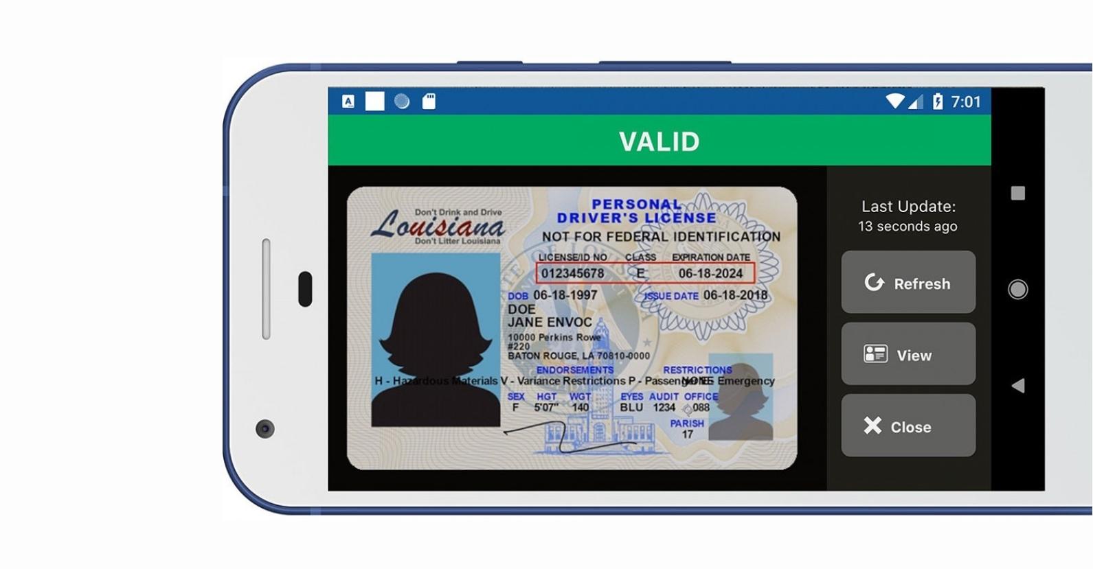 Řidičský průkaz možná zamíří do mobilů s Androidem