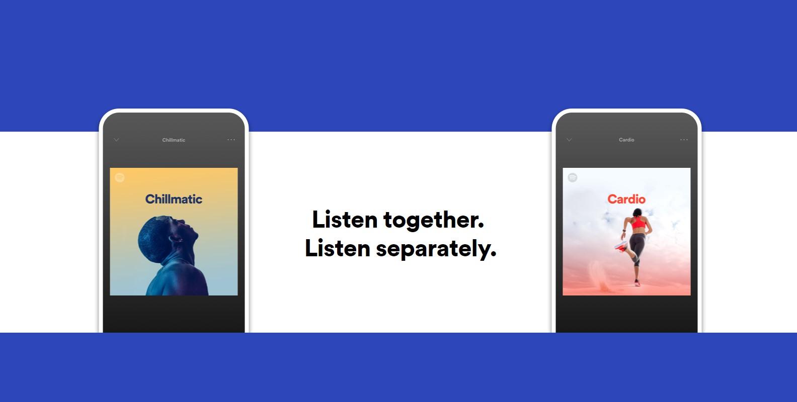 Spotify testuje nový tarif Duo