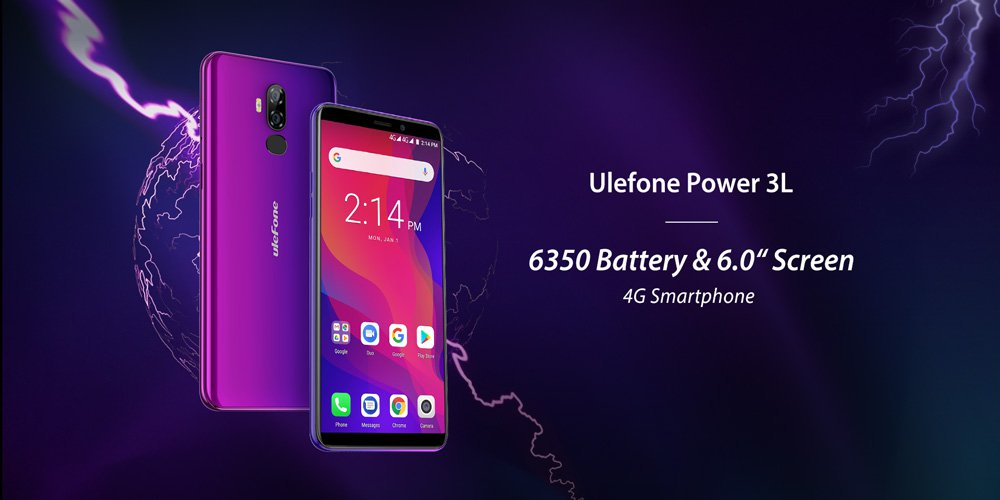 Ulefone uvádí model Power 3L