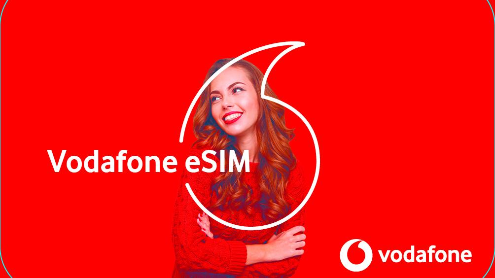 Vodafone nasazuje eSIM pro tarify i předplacenky