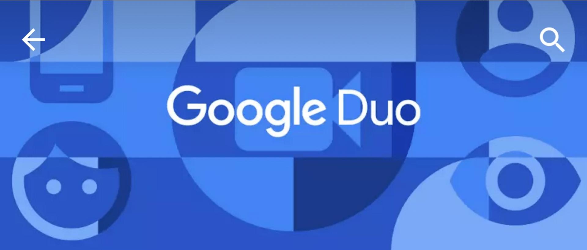 Google Duo mění způsob ovládání