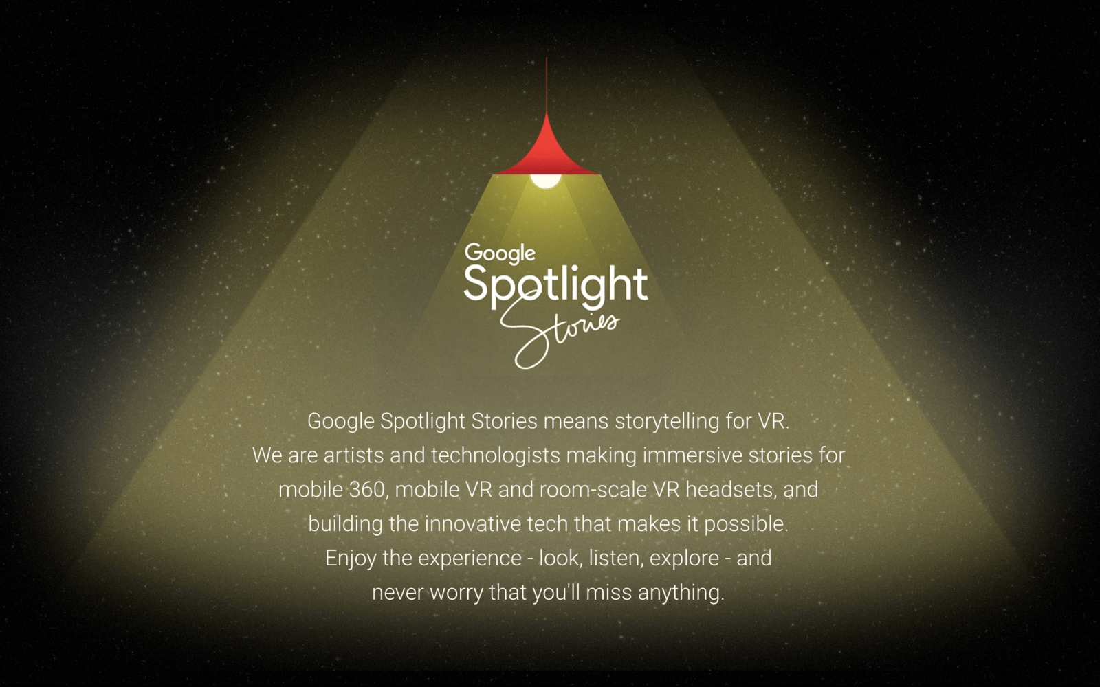 Google končí se Spotlight Stories