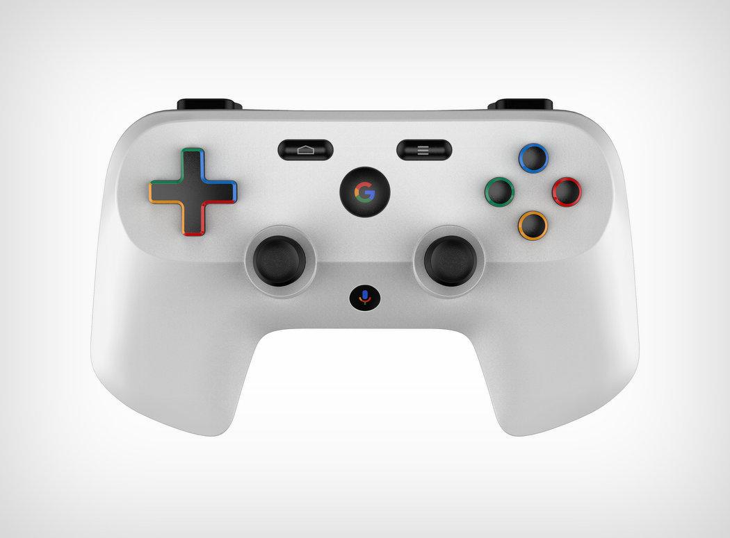 Patent Googlu poodhalil možnou podobu ovladače pro jeho herní službu