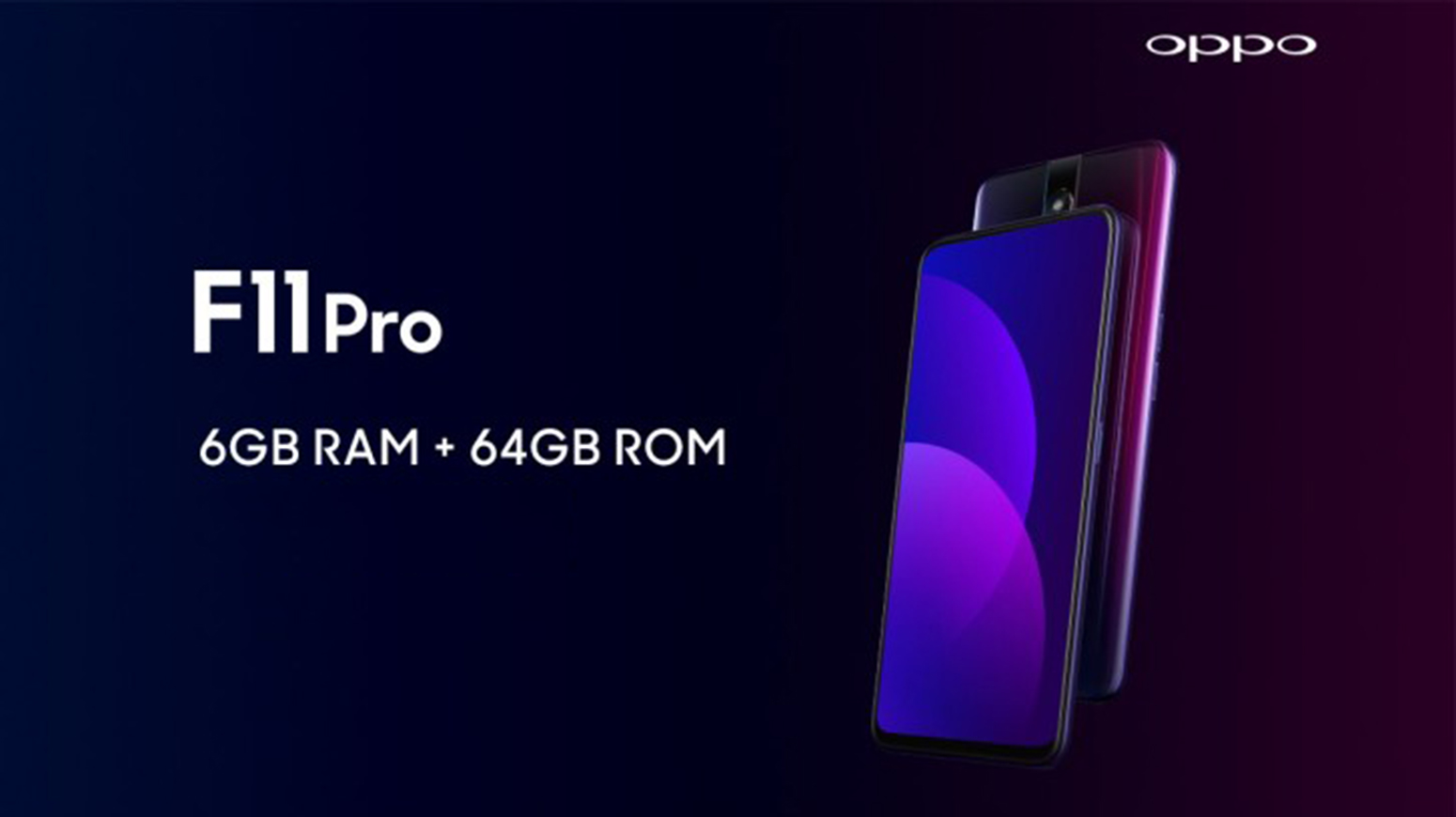 OPPO F11 Pro oficiálně, předzvěst OnePlus 7?