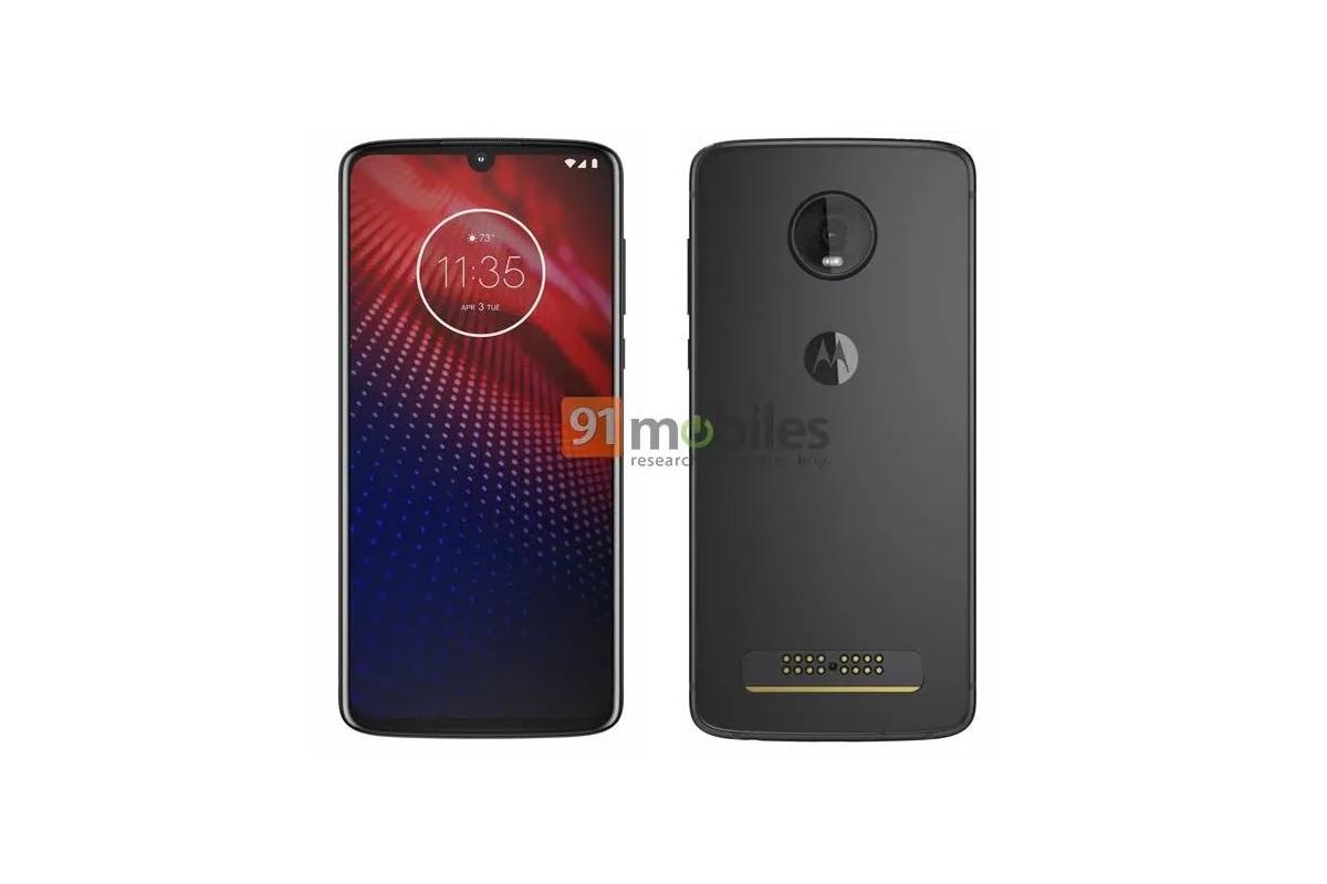 Motorola Moto Z4 na renderu [aktualizováno]