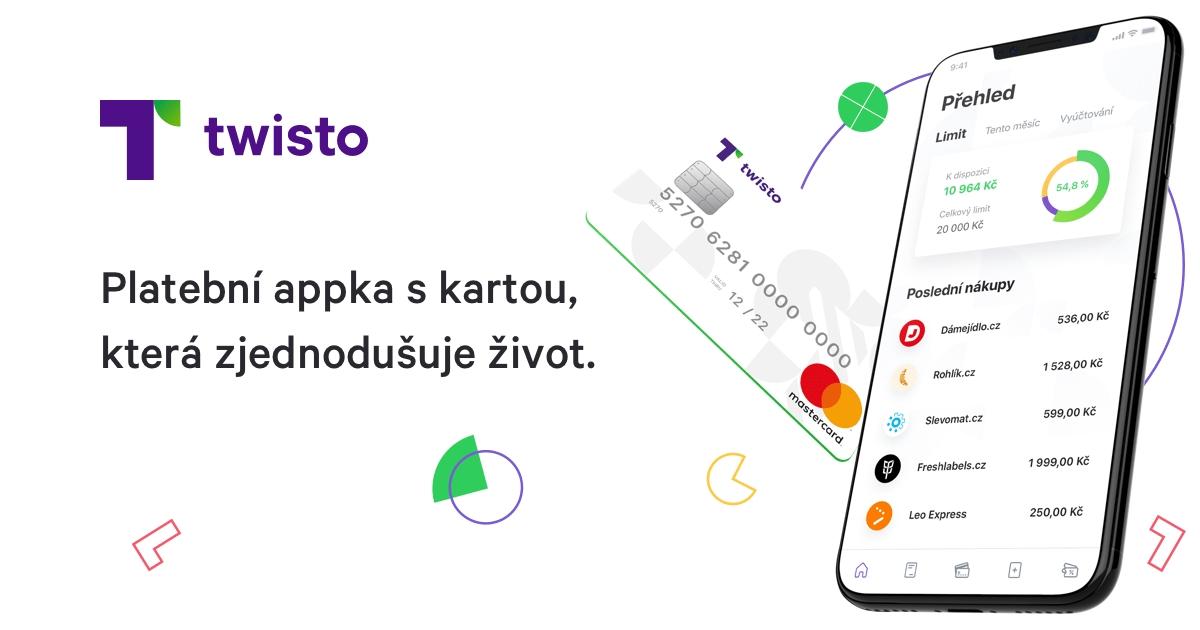 Twisto: Platební appka s kartou snejvýhodnějším kurzem při zahraničních platbách! [sponzorovaný článek]