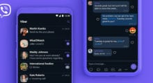 Viber získává ještě tmavší vzhled [aktualizováno]