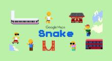 Do Google Map zamířil had, ale jen na omezenou dobu
