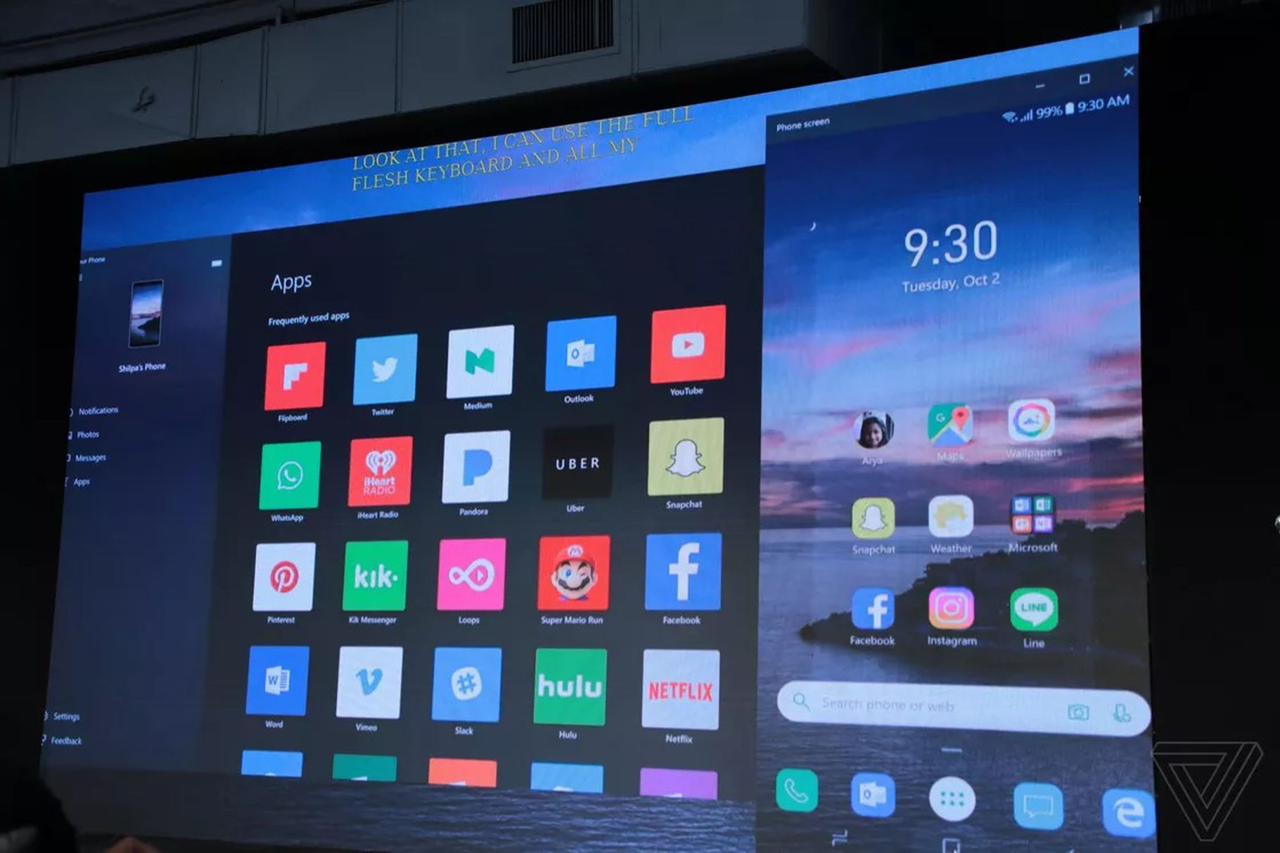 Microsoft přináší Android aplikace pro Windows 10, díky zrcadlení obrazovky