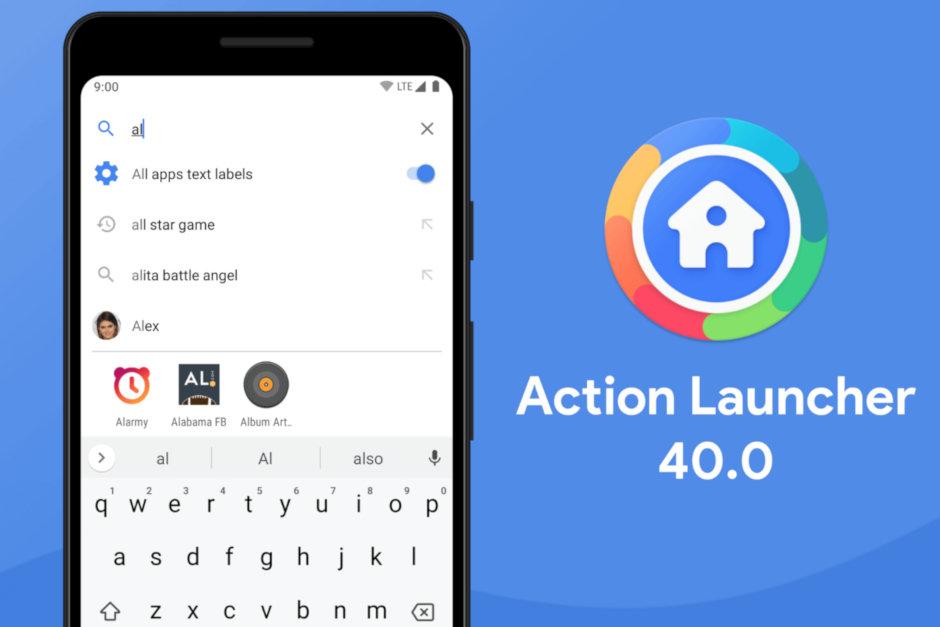Action Launcher se dočkal velké aktualizace