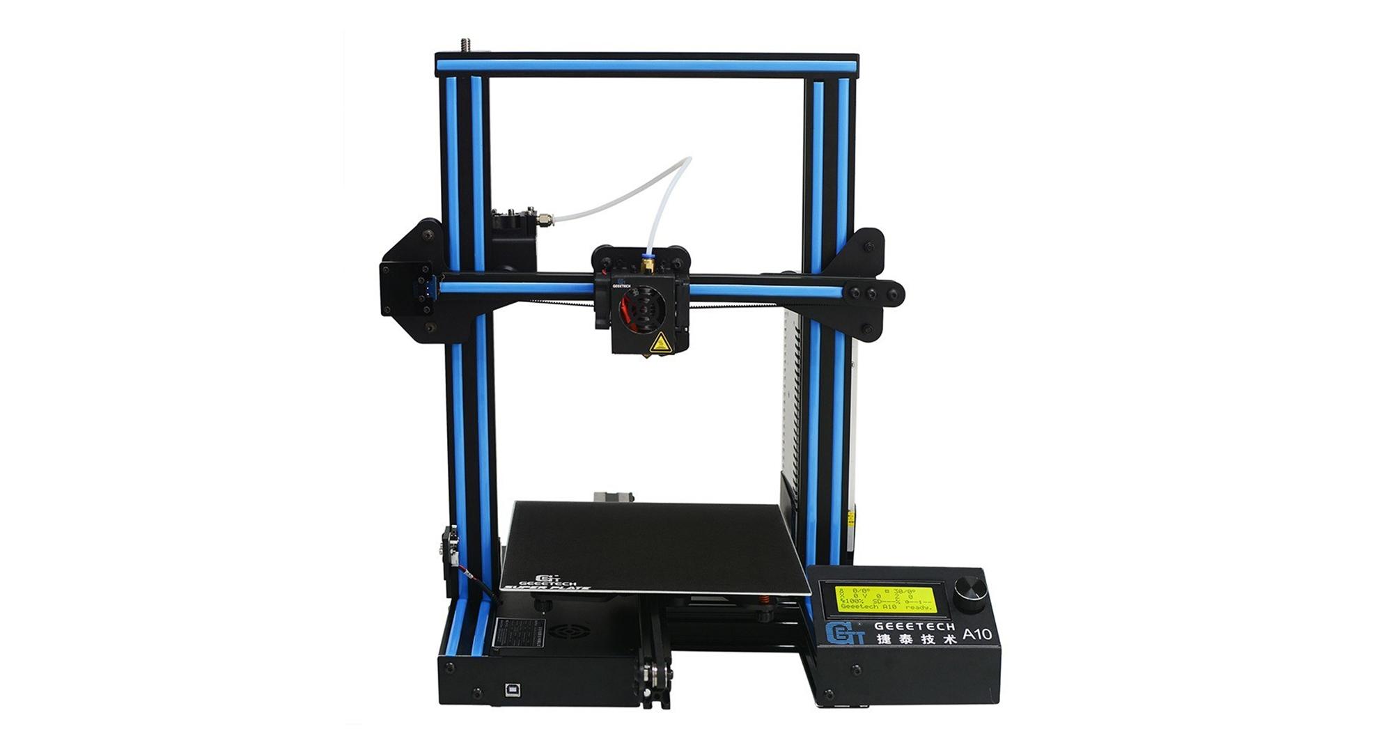 Geeetech A10 je úžasná 3D tiskárna za pakatel! [sponzorovaný článek]