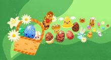 Google poprvé mění barvu domovské stránky, vše kvůli Velikonocům