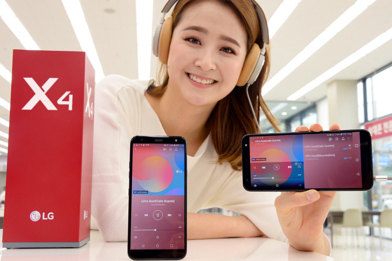 LG X4 (2019) – druhá generace nabízí značné vylepšení