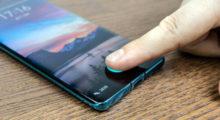 Čtečky otisků prstů zamíří konečně do LCD displejů