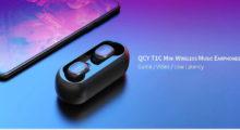 Bezdrátová sluchátka QCY T1C Mini za parádní cenu! [sponzorovaný článek]
