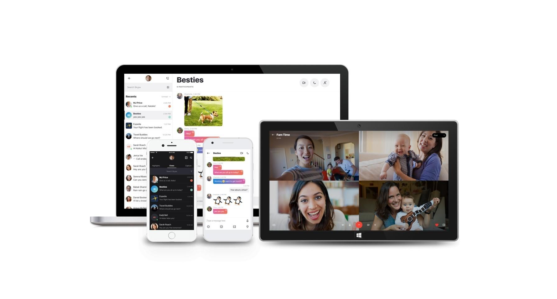 Skype získává sdílení obrazovky na Androidu a iOS [aktualizováno]