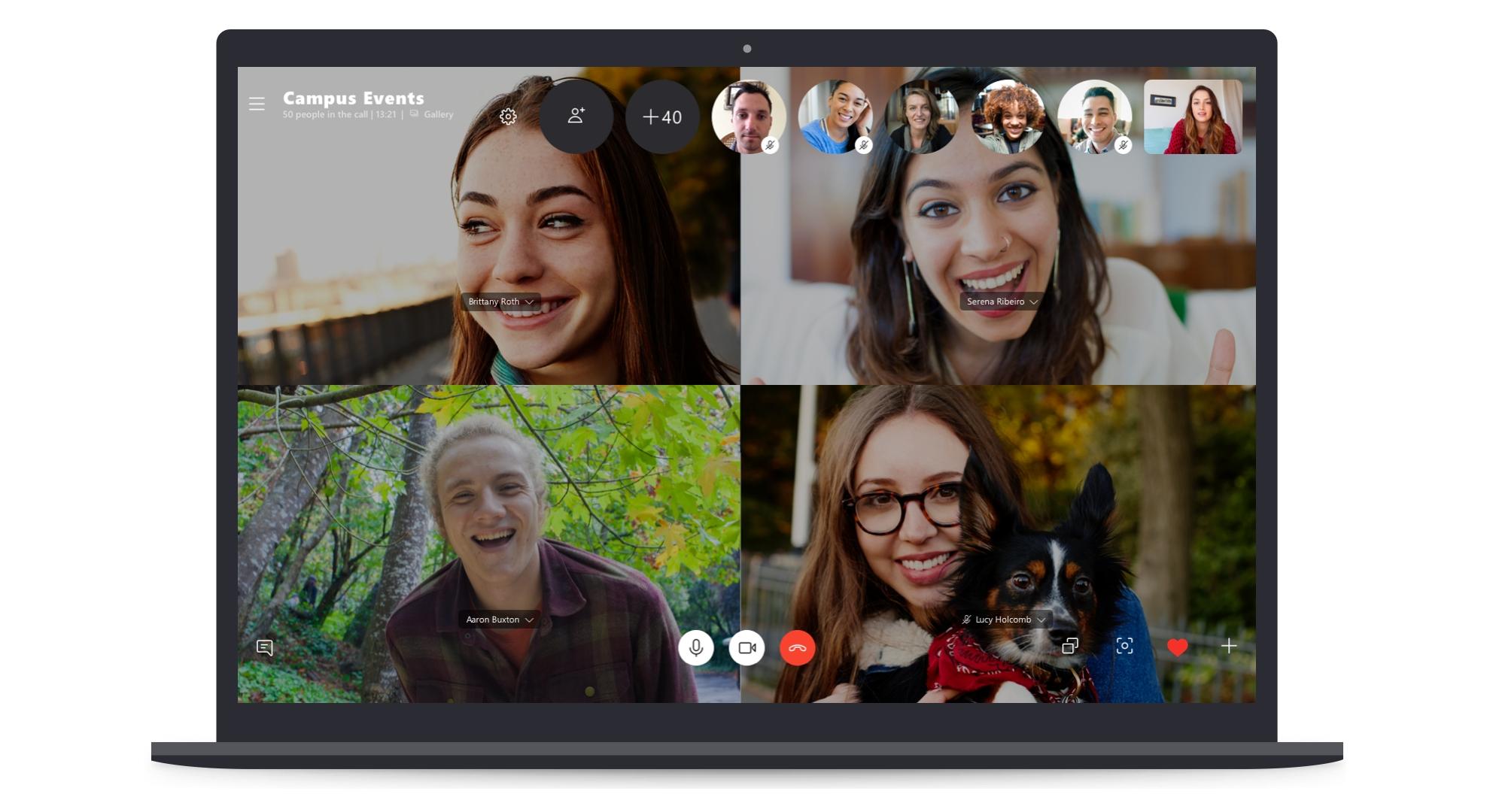 Skype zdvojnásobil počet účastníků pro konferenční hovor