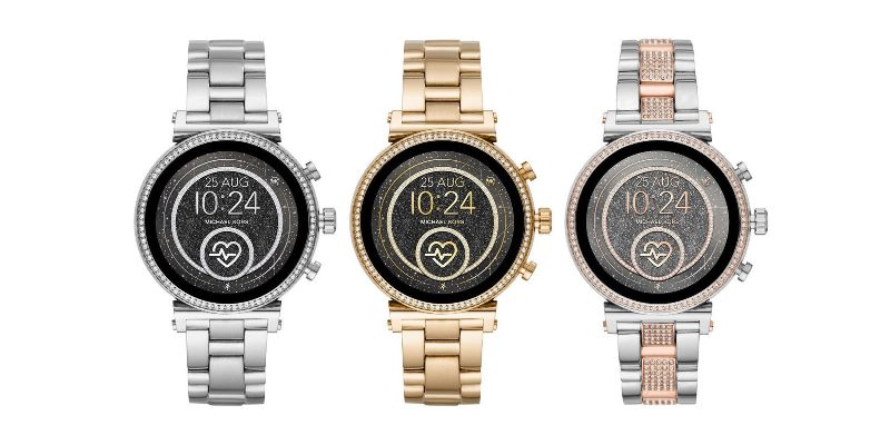 Michael Kors uvedl hodinky Sofie Heart Rate