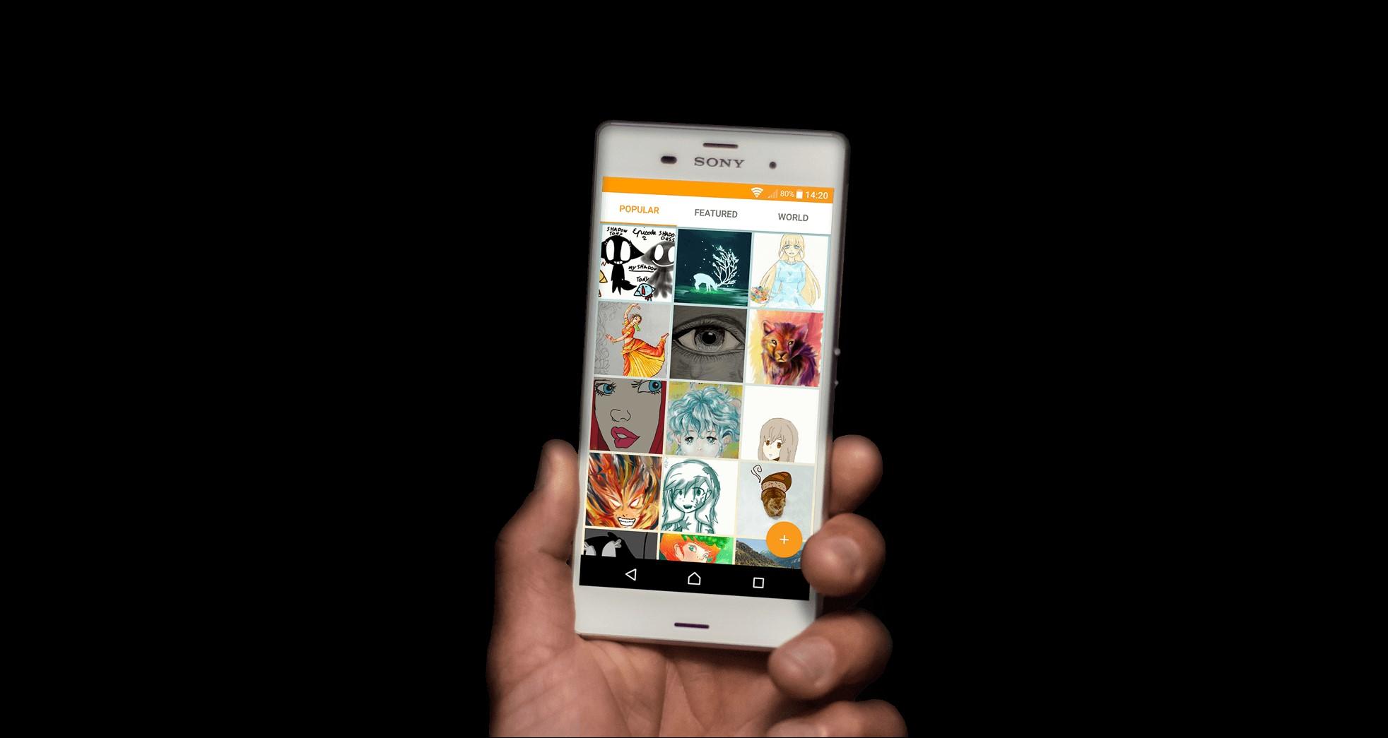 Sony omezí aplikaci Náčrt pro Android a iOS