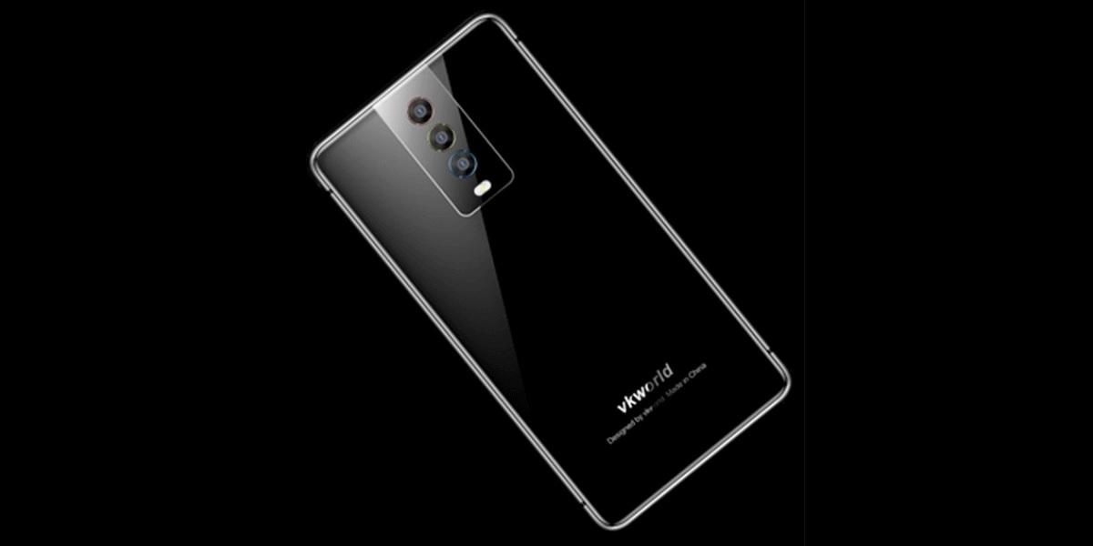 První kopie Huawei P20 Pro, Vkworld K1 má trojitý zadní fotoaparát