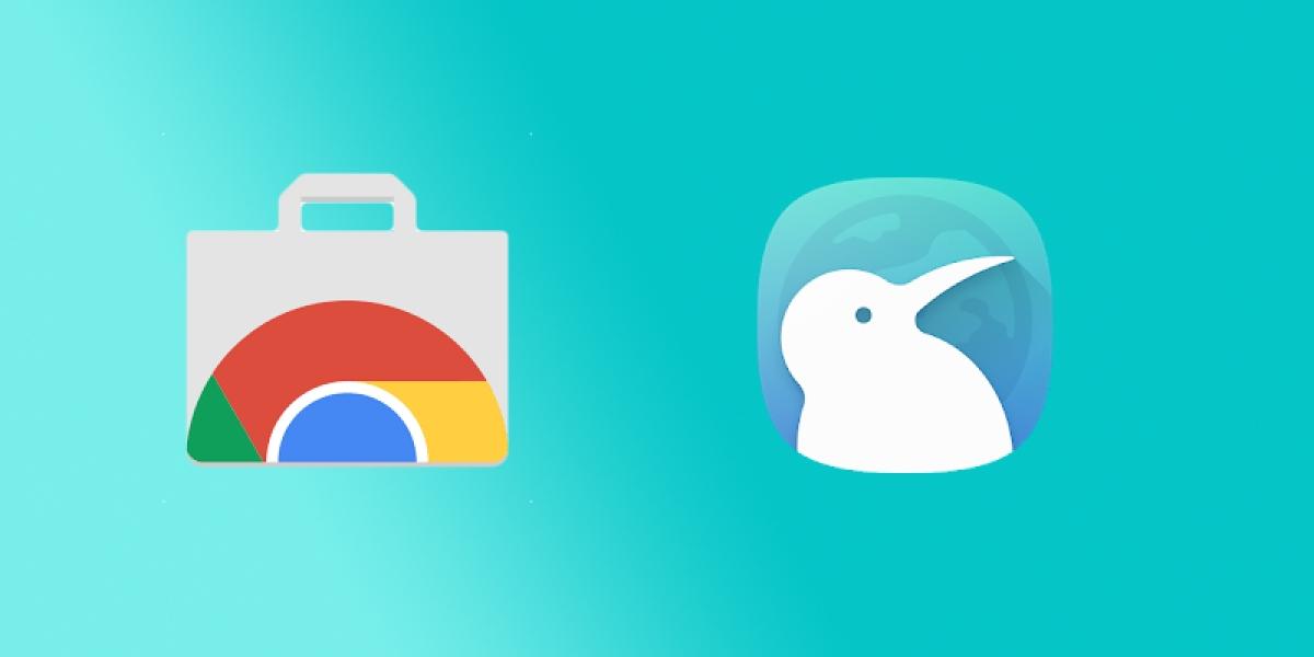 Kiwi podporuje rozšíření pro běžný Chrome