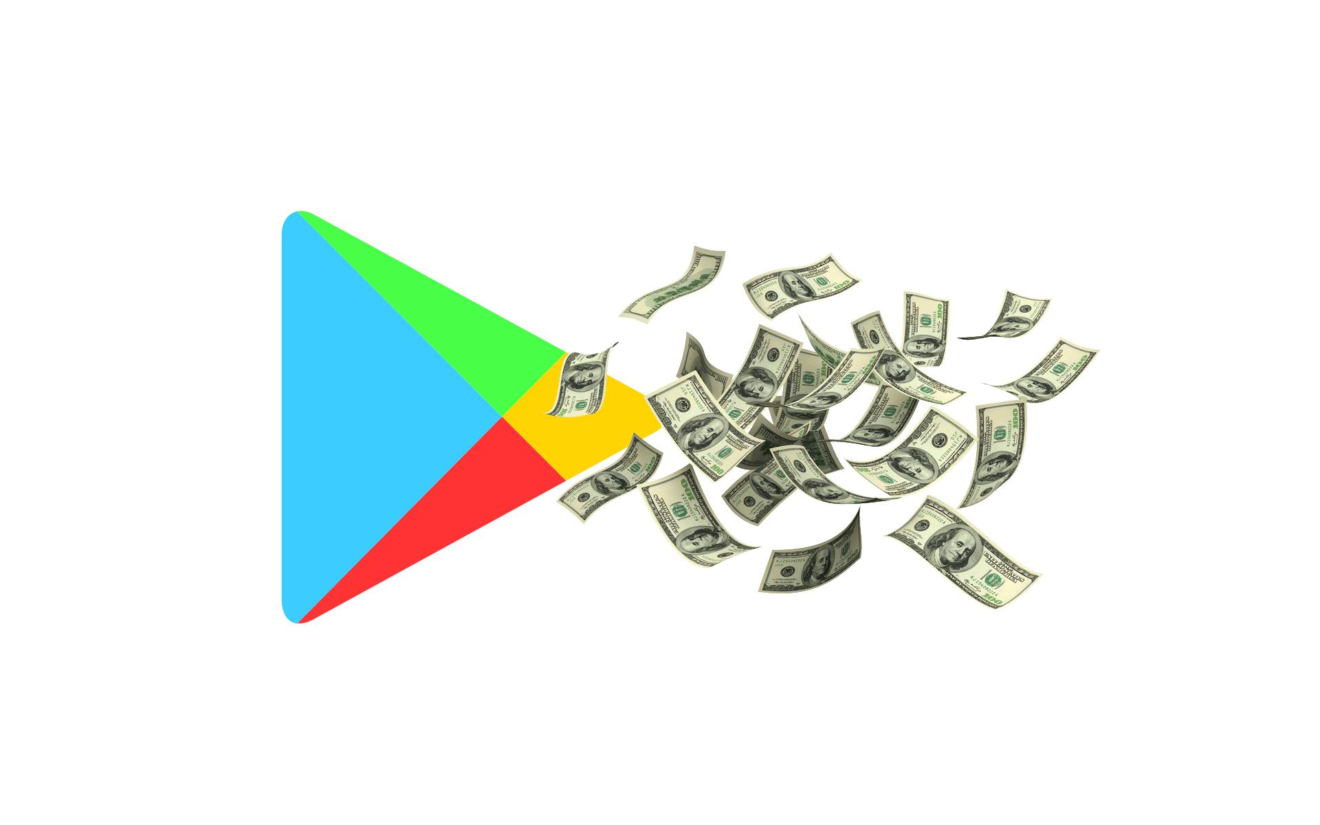 Obchod Play nabízí možnost nastavení měsíčního rozpočtu
