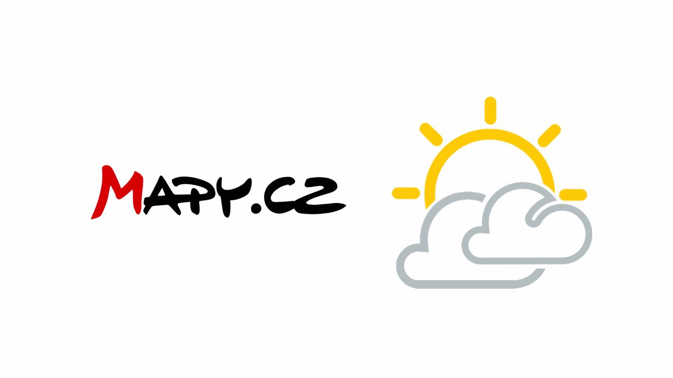 Mapy.cz získávají kartu nejen s aktuálním počasím