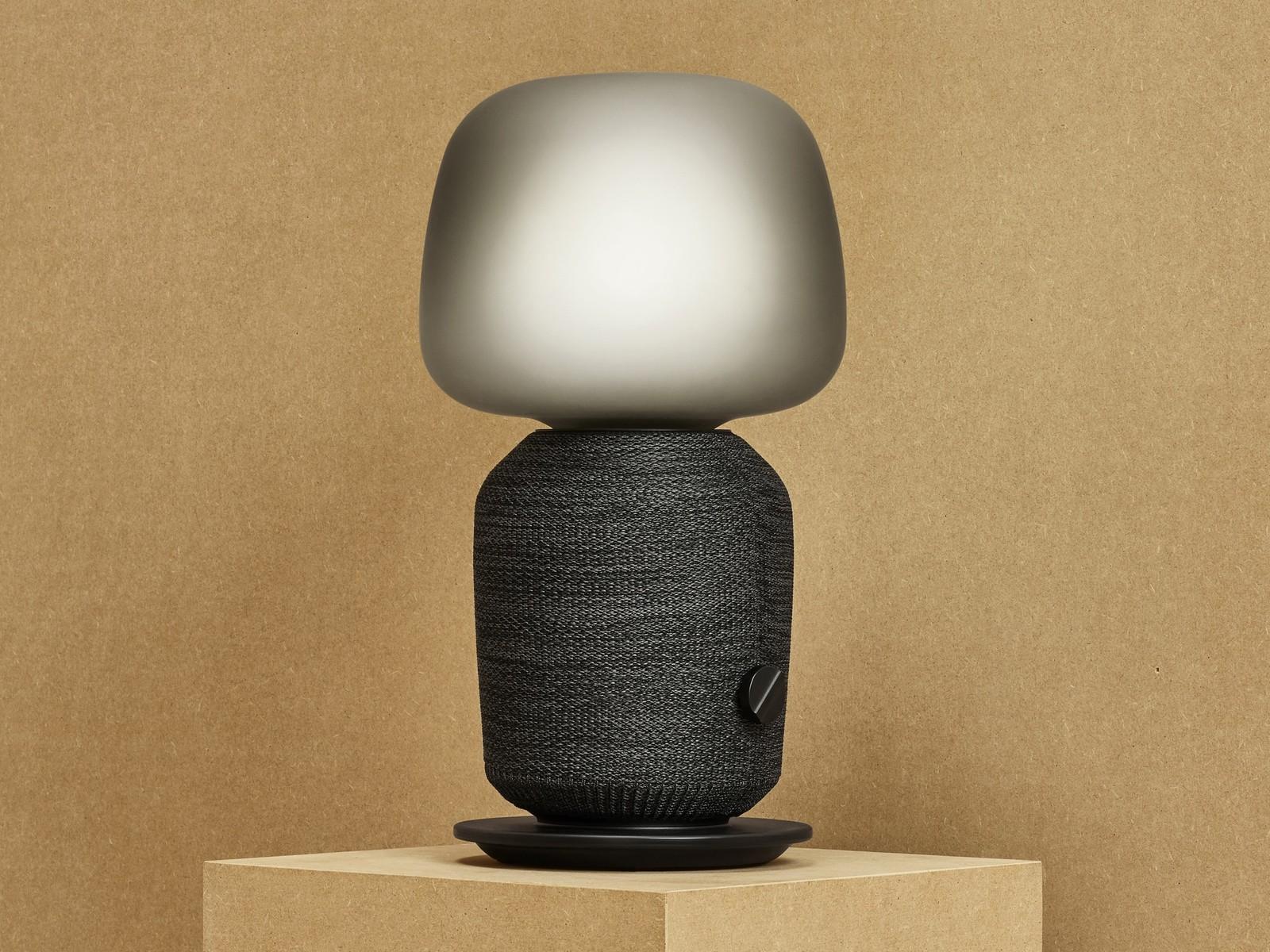 Firmy Sonos a Ikea se spojily a vytvořily lampu, která zároveň slouží jako reproduktor