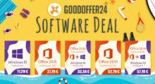 Letní slevové šílenství na GoodOffer24: Windows 10 Pro za 11,29 €, Office 2019 Pro za 52,79 € [Sponzorovaný článek]