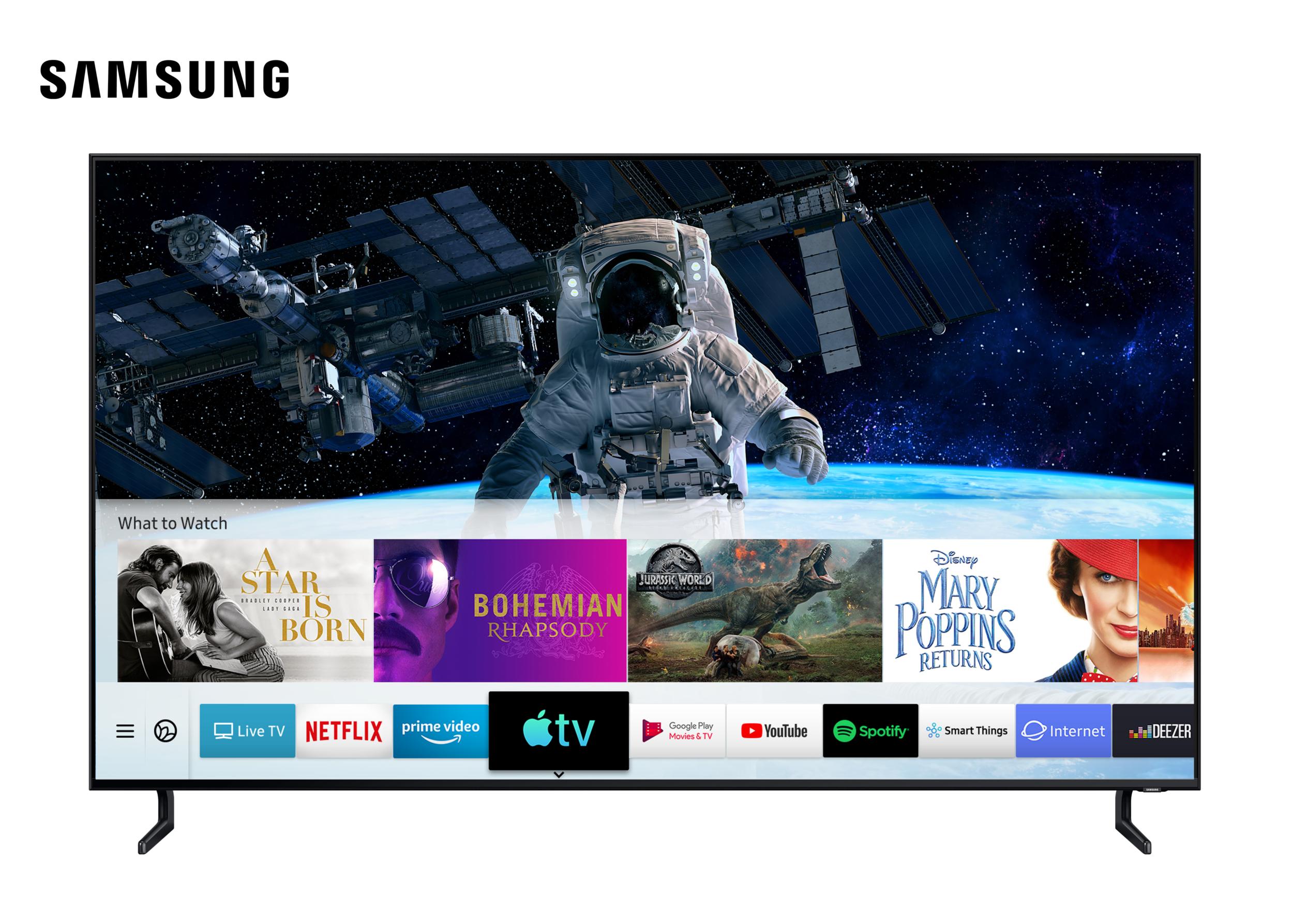 Samsung televizory nově podporují funkci AirPlay 2