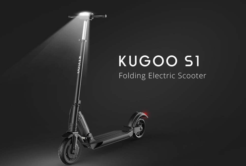 Skvělá elektrokoloběžka Kugoo S1 o 50 % levněji! [sponzorovaný článek]