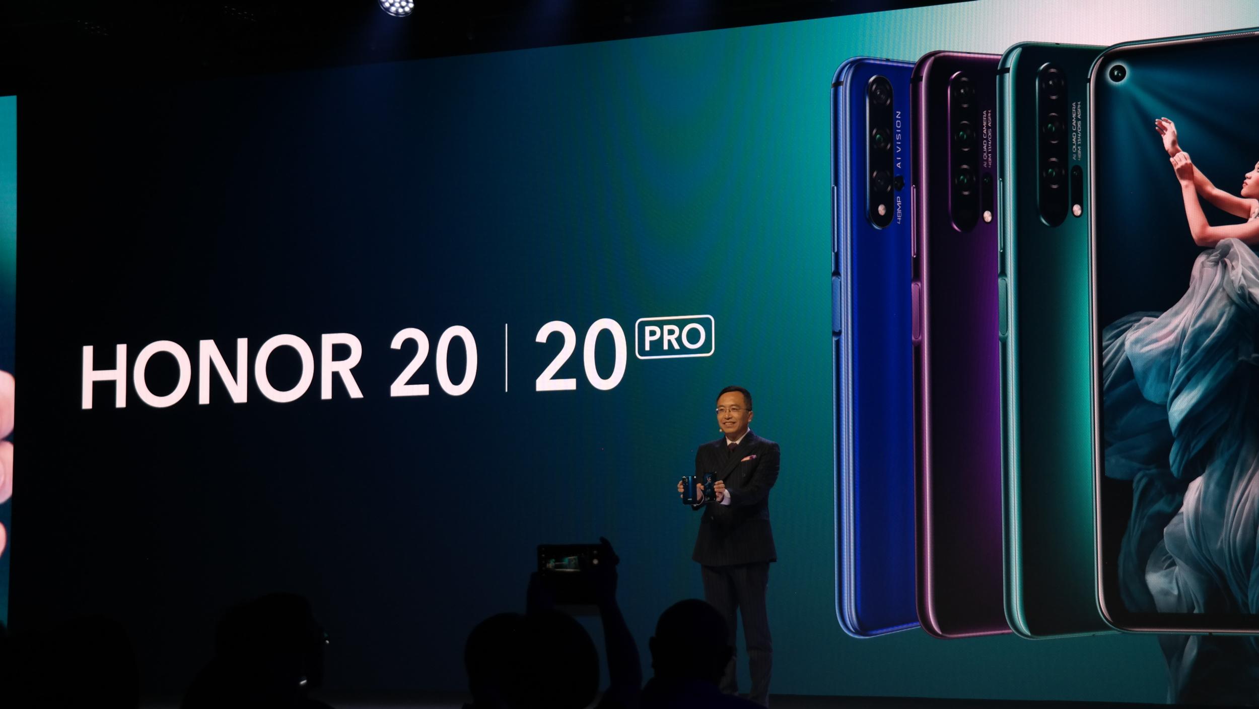 Honor 20 míří na globální trh, Honor 20 Pro možná přijde v červenci [aktualizováno]