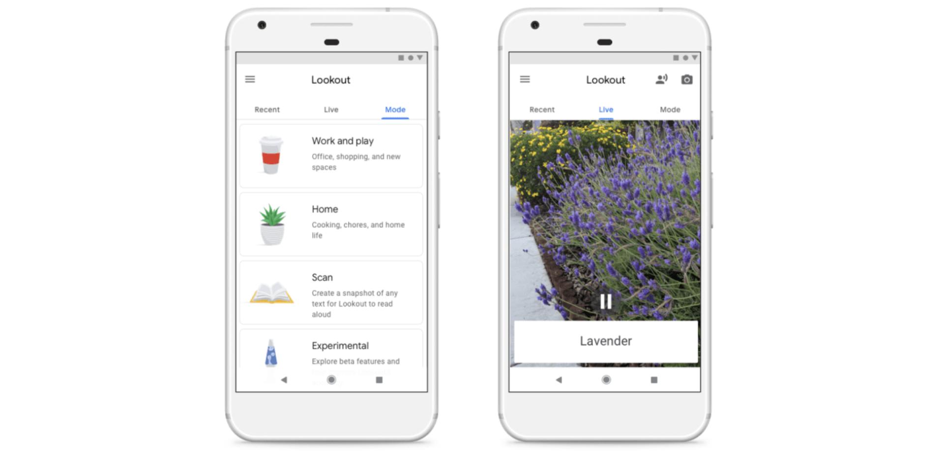 Google představil novou aplikaci pro nevidomé