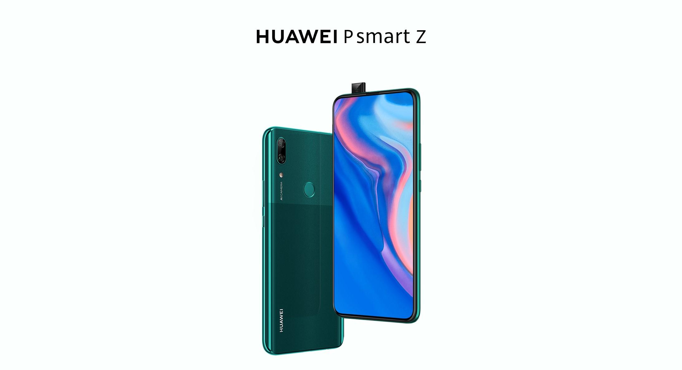 HUAWEI P smart Z je novinka s výsuvnou kamerou, stojí 279 eur