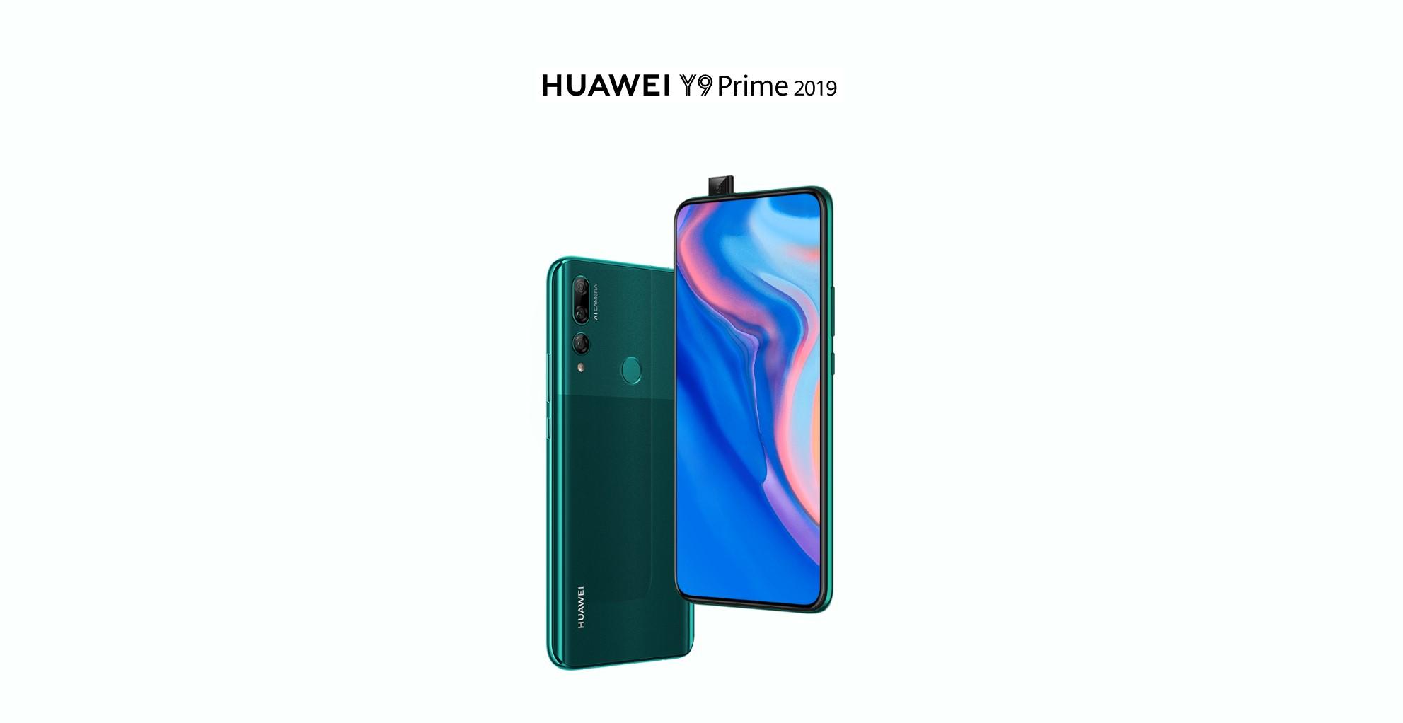 Huawei Y9 Prime 2019 je novinka s výsuvnou kamerou