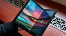 Lenovo ThinkPad X1 Foldable PC je první ohebný notebook na světě