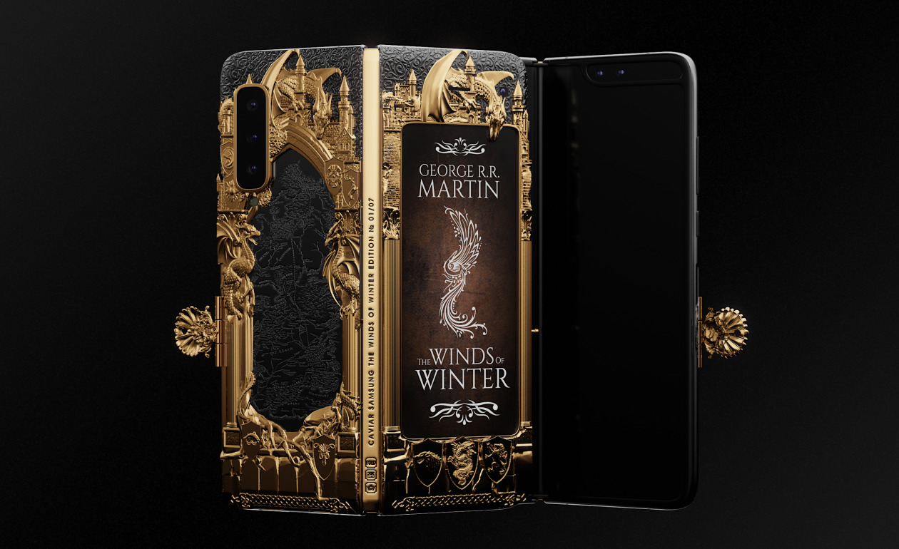 Samsung Galaxy Fold Game of Thrones edice za 8 200 dolarů