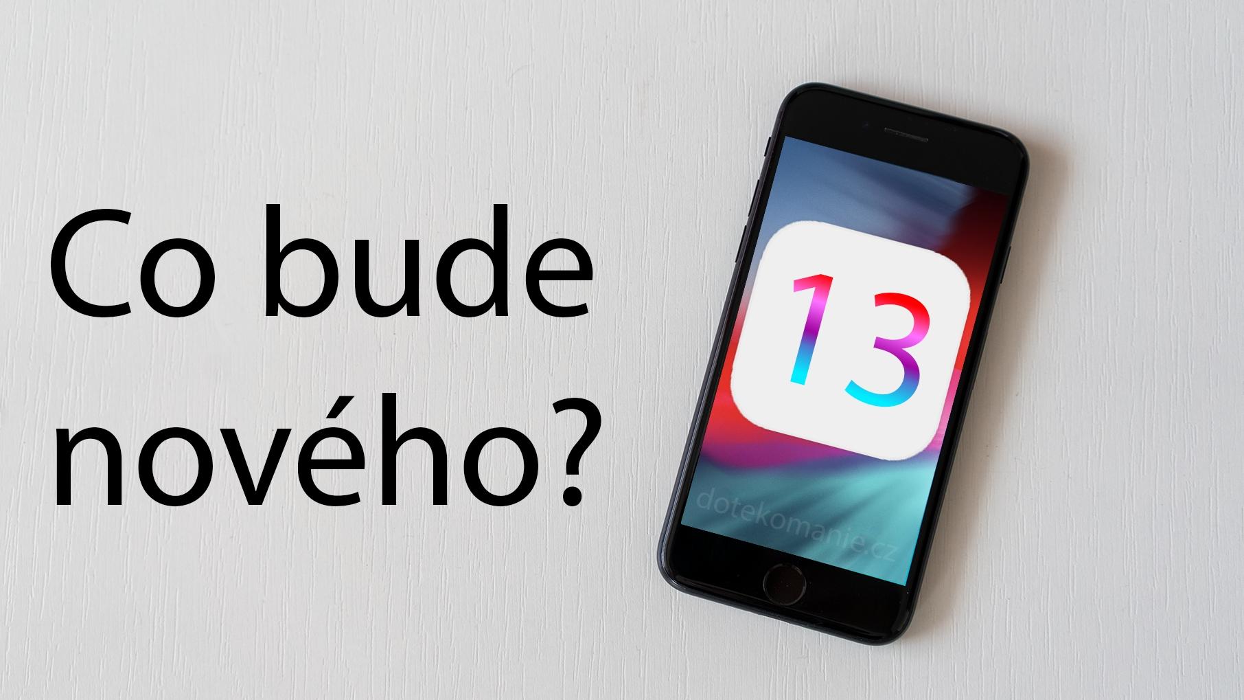 iOS 13: výčet všech možných novinek