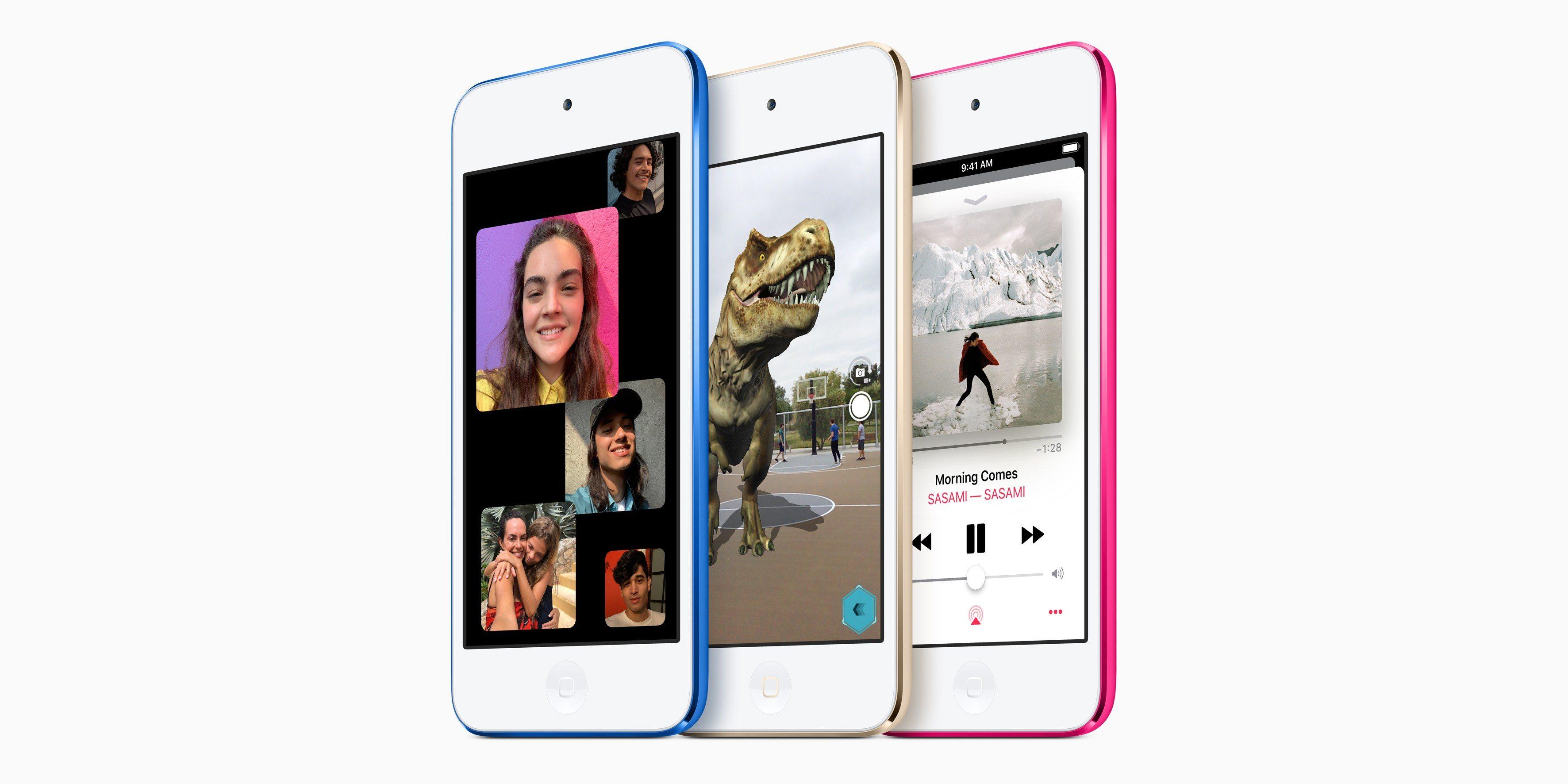 Apple velmi potichu vydal nový iPod touch