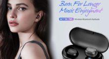 Kompletně bezdrátová sluchátka QCY T2C nabídnou 32 hodin hraní [sponzorovaný článek]