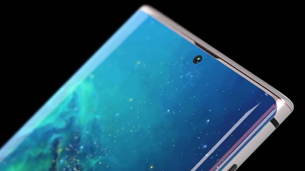 Samsung pracuje na foťáku umístěném pod displejem