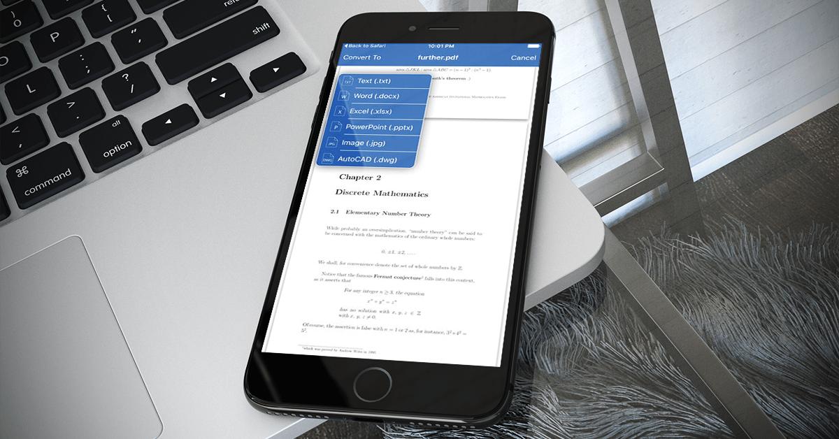 Able2Extract aneb konvertujte PDF soubory z vašeho mobilního telefonu [recenze]