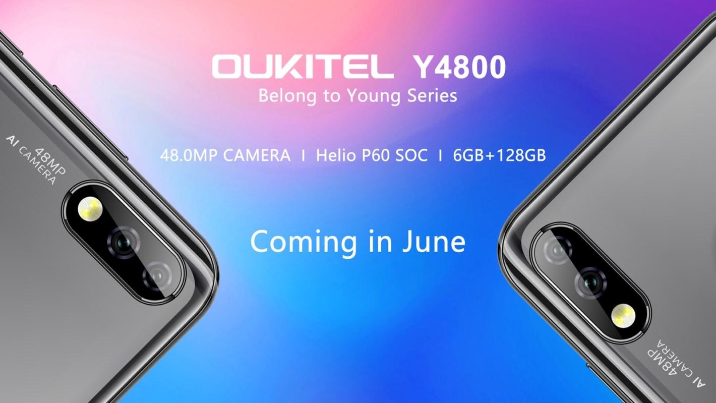 Oukitel má v plánech model Y4800