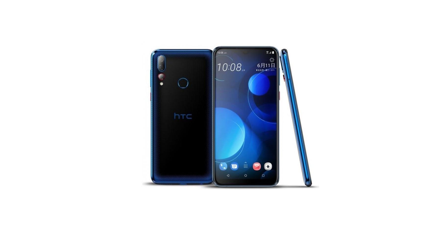 HTC Desire 19+ je novinka s nakousnutým displejem