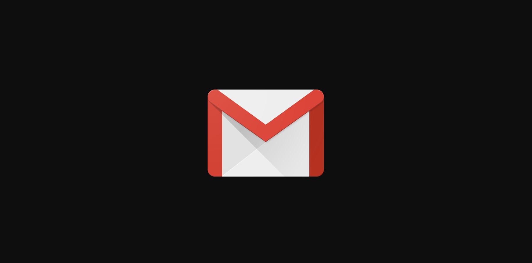 Gmail konečně dostává tmavý vzhled [aktualizováno]
