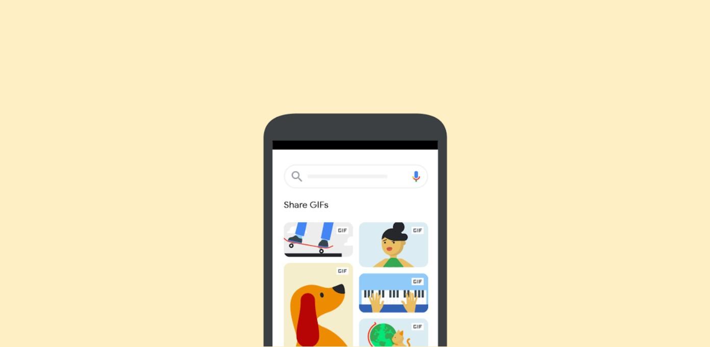 Google přidává možnost sdílení GIFů