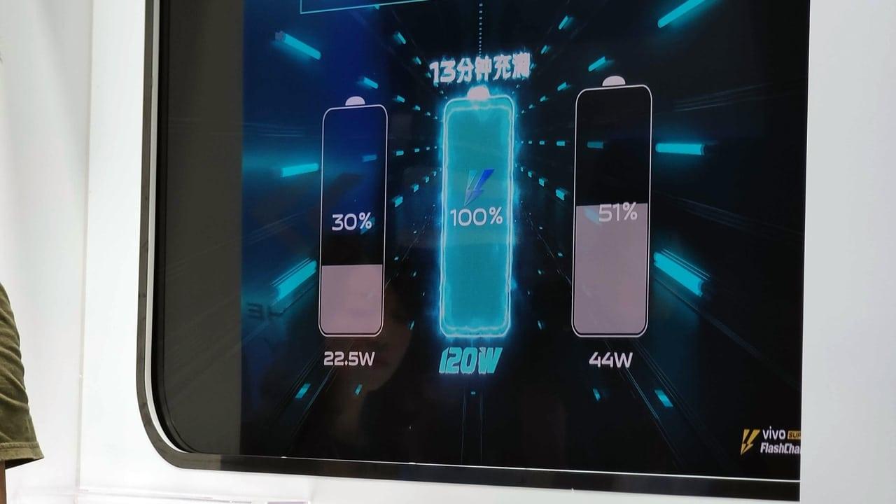 Oficiálně: 120W nabíjení od Vivo doplní energii za 13 minut [aktualizováno]