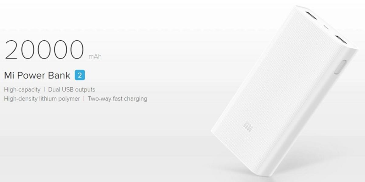 Originální Xiaomi Power Bank C2 20 000 mAh jen za 635 Kč! [sponzorovaný článek]