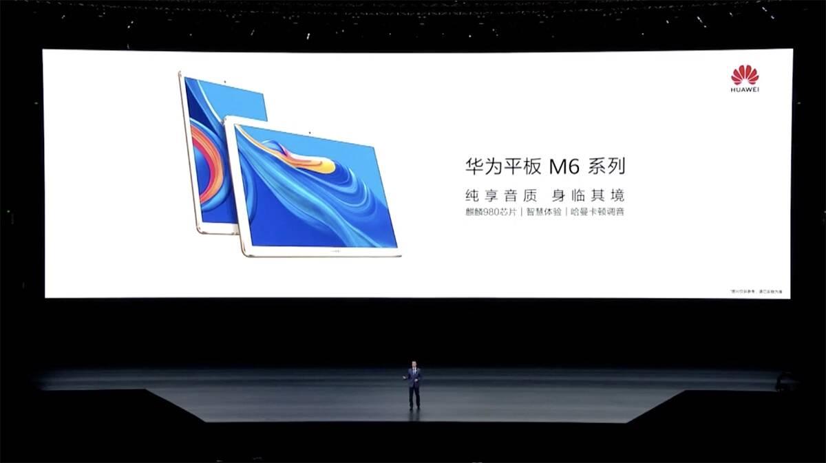 Huawei MediaPad M6 je novinka s 2K displejem a 4 reproduktory